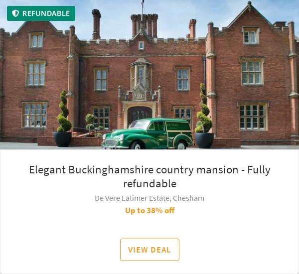 Elegant Buckinghamshire country mansion - Fully refundable