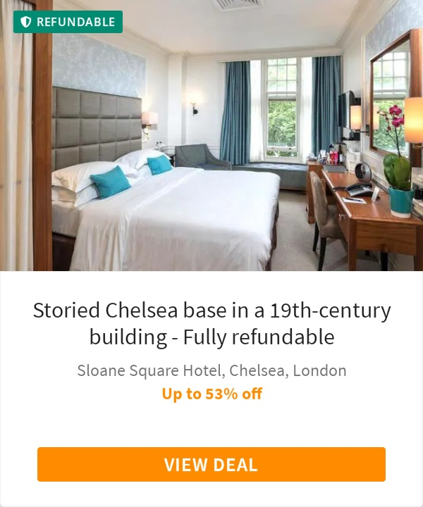 Storied Chelsea base in a 19th-century building - Fully refundable