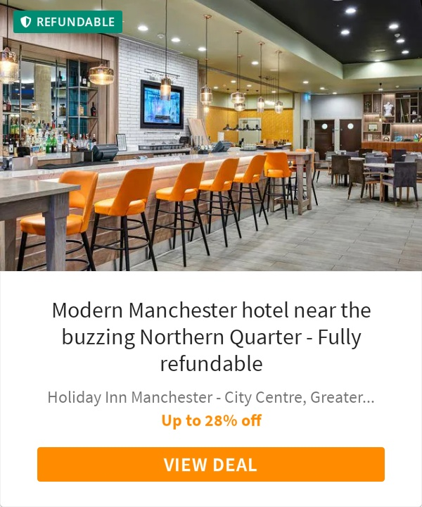 Modern Manchester hotel near the buzzing Northern Quarter - Fully refundable